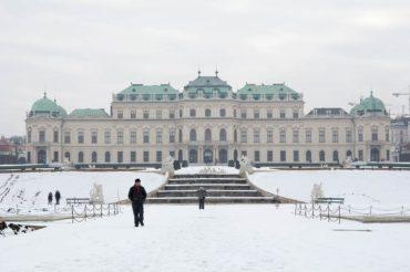 celebrating bday in Vienna