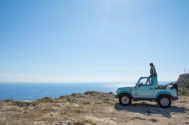 Suzuki off-roading in Malta
