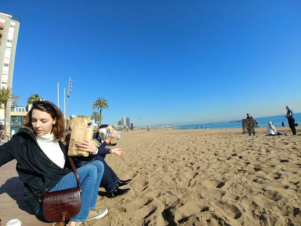 La Barceloneta beach, Barcelona, Spain - Paulina from Poland - 2018
